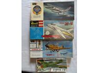 Four Aeroplane Model Kits (RARE & OLD)