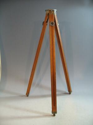 Vintage Sharman Camera Works Wood Wooden Tripod