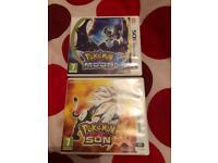Pokemon sun and moon 3DS