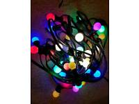 Professional Grade External Festoon Lighting 20 Metre