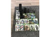 Xbox 360 250g slim with 15 games
