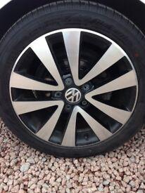 "VW 17"" Seattle Shadow set of 4 genuine wheels"