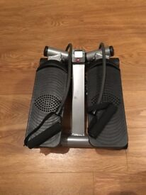 Stepper with handles
