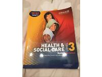 BTEC Level 3 Health and Social Care Book 1