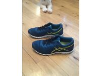 Mens Asics gel running shoes size 9