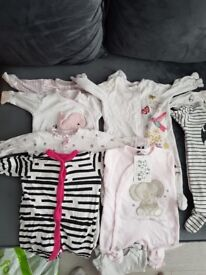1 month and 0-3 month baby bundle. Smoke and pet free home.