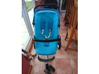 Quinny Buzz 3 Travel System in Aqua mint