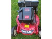 """53cm (21"""") heavy duty Toro Recycler petrol lawnmower"""