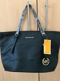 New black tote kors handbag