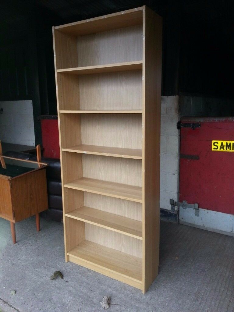 Tall Bookshelves light Colour Delivery Available