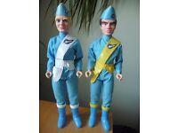 2 Thunderbird talking figures