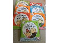 A set of 7 books Charlie and Lola