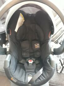 Besafe car seat and isofix