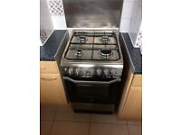 Gas cooker-electric oven for sale