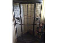 Brand new parrot corner cage