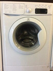 INDESIT WASHING MACHINE 7kg DISPLAY MODEL FREE DELIVERY AND WARRANTY