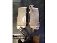 KTM 250 SXF.......RADIATORS 07-11