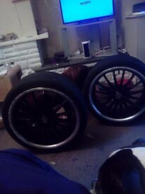 Alloy wheels only 2