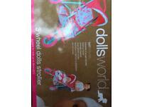 Brand new dolls pram
