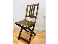 Folding Chair (Wood)