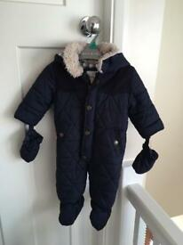 Junior J Jasper Conran snowsuit baby boys 3-6 months