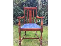 Dining room chairs , 5 incl one carver