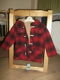 Brand new, winter jacket from 'matalan'. 2-3 years old.From smoke and pet free house.