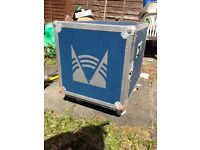 DJ equipment transport box