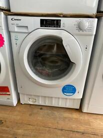 Candy built in washing machine 8kg 1600spin