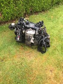 2007 Ford Fiesta 1.4 tdci complete engine with gear box and turbo etc £350