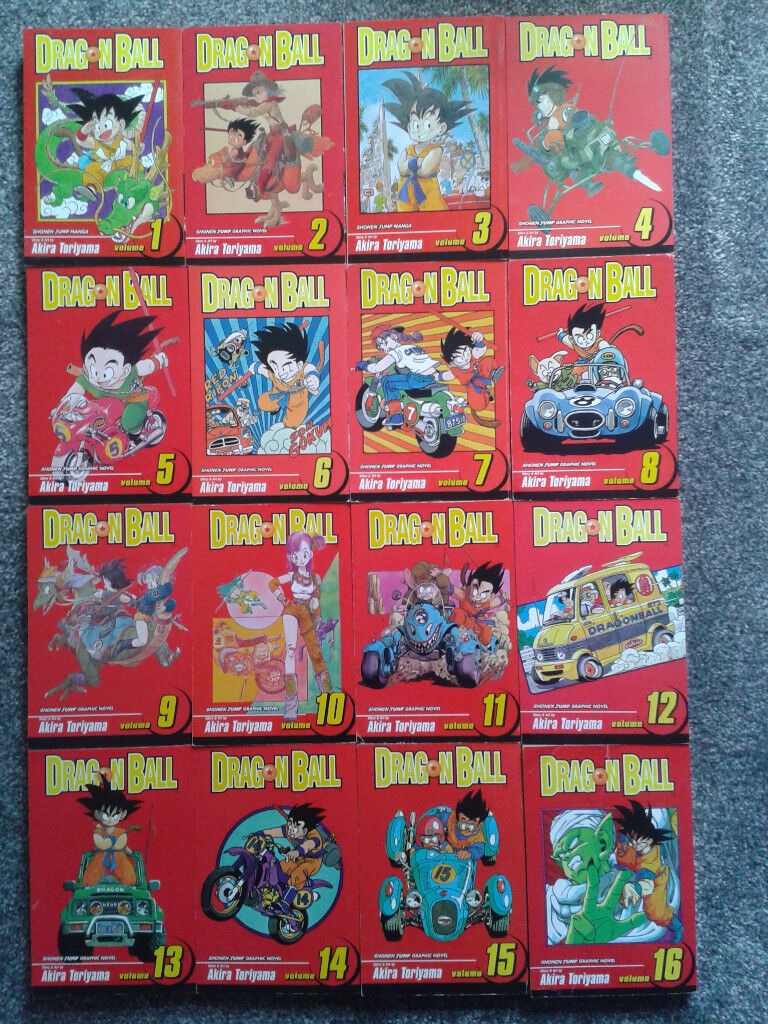 Complete set of Dragon Ball graphic novels