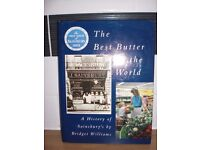 A HISTORY OF SAINSBURY'S HARDBACK BOOK - 223 PAGES- THE BEST BUTTER IN THE WORLD BY BRIDGET WILLIAMS