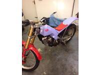 Aprilla 290 climer trials bike