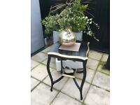 Rococo style wooden table.