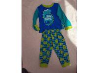 3-4 years dinosaur pyjamas