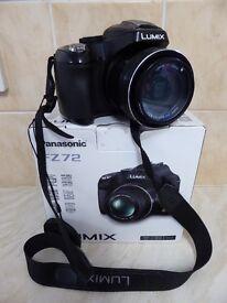 Panasonic DMC-FZ72 digital bridge camera
