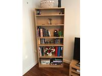 Bookcase-Shelf Unit (Beech Effect) in Excellent Condition!