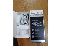 Samsung Galaxy J7 CORE silver 32GB Dual Sim Unlocked smartphone