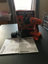 Black and decker drill never been used!