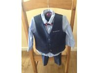 Next Boys Suit Aged 9 - 12 mths - Worn Once