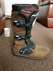Forma Boulder Motocross Boots Size 10.5