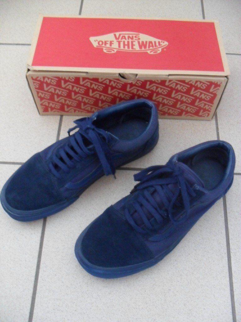 9bb67d90ec Vans Old Skool (Mono) Dress Blues casual shoes RRP £52.00 - Mens UK 10