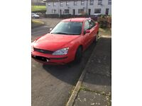 Red Ford Mondeo
