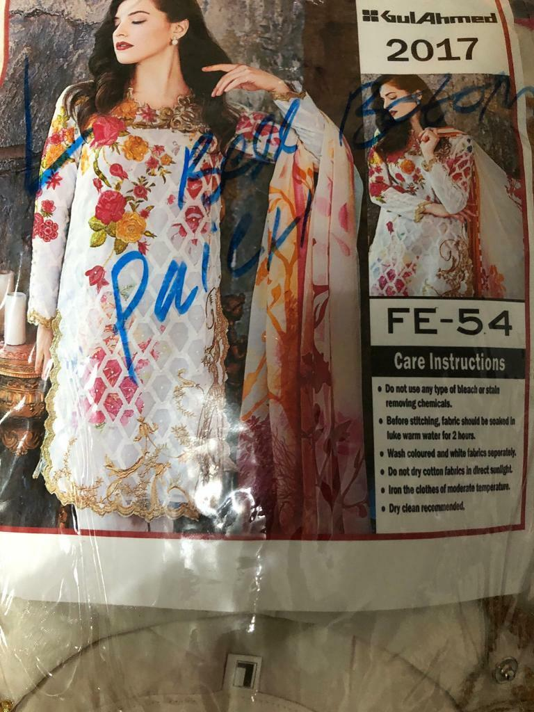 06a0a1e9f Asian Gul Ahmed/Khaadi Suits | in Burnage, Manchester | Gumtree