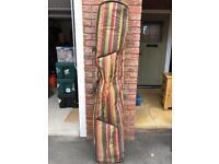 Dakine snowboard roller bag