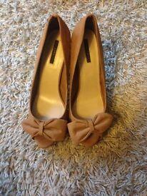 Zara heels size 8 NEW
