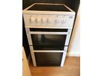 Beko Electric oven hardly used very good condition 2nd hand washing machine good condition