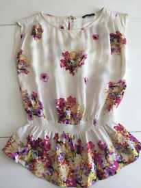 River Island holiday summer top size 6