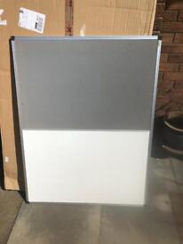 Office White/Felt board. New