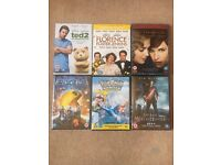 bundle of films brand new all sealed
